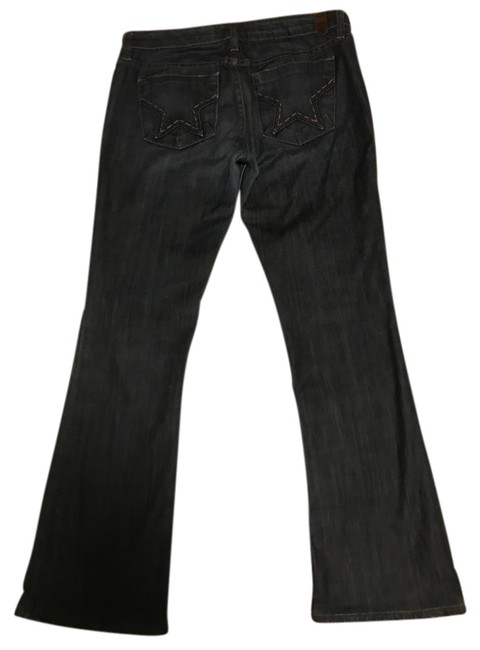 People's Liberation Boot Cut Jeans-Dark Rinse Image 0
