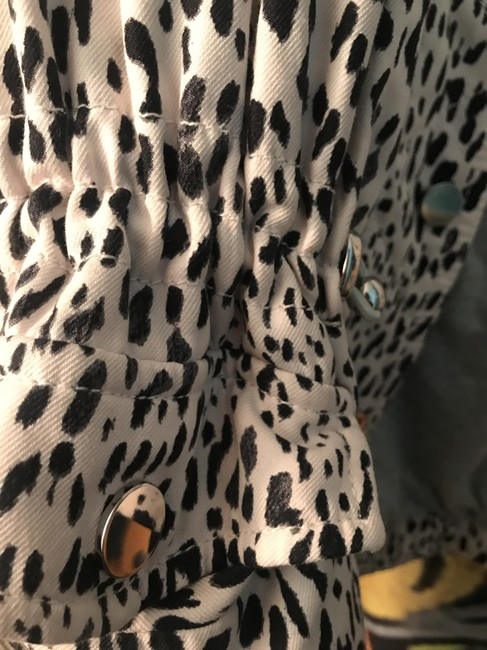 Rebecca Taylor Fall Animal Print Chic Pink Ombre Leopard Jacket Image 5
