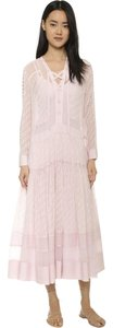 Pink Maxi Dress by Rebecca Taylor Isabel Marant Zimmermann Festival Sheer Maxi