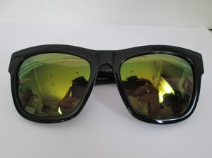 Linda Farrow for 3.1 Phillip Lim Linda Farrow 3.1 Phillip Lim PL6 Black Green Mirrored Sunglasses