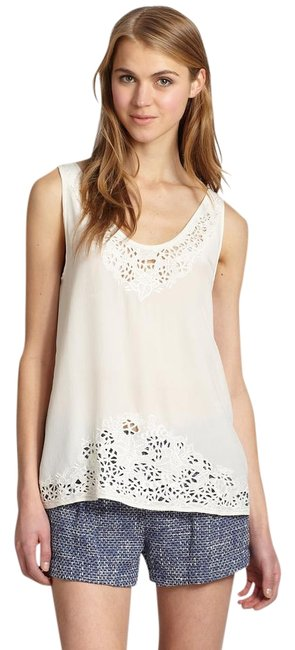 Preload https://img-static.tradesy.com/item/22383203/joie-white-maurizia-embroidered-silk-tank-blouse-size-4-s-0-1-650-650.jpg
