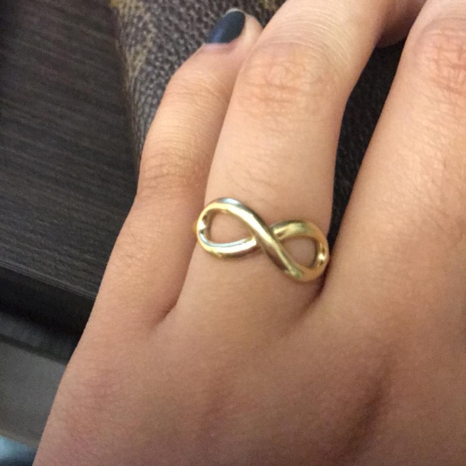 d1854b4cdc0d7 Tiffany & Co Gold Infinity Ring Image 6. 1234567