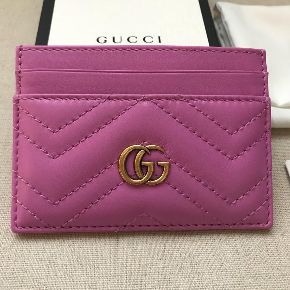 d0f741bb187 Gucci Gucci Marmont Card Holder Image 7. 12345678