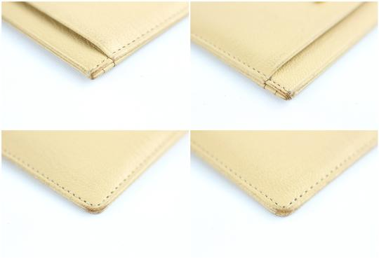 CHANLE Card Case Card Wallet Card Holder Organizer Wallet Wristlet in Beige Image 6