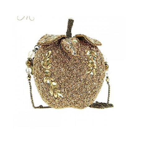 Preload https://img-static.tradesy.com/item/22383409/mary-frances-apple-disc-handbag-one-of-a-kind-soldout-golden-sequence-clutch-0-0-540-540.jpg