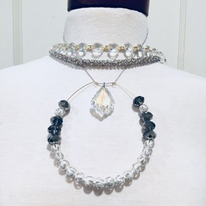 Queen Ice Silver Fem Layered Dream Necklaces