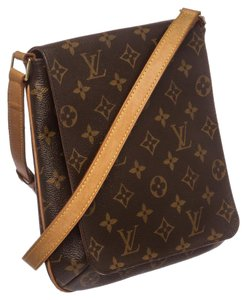 Louis Vuitton Lv Monogram Salsa Mussette Monogram Shoulder Bag