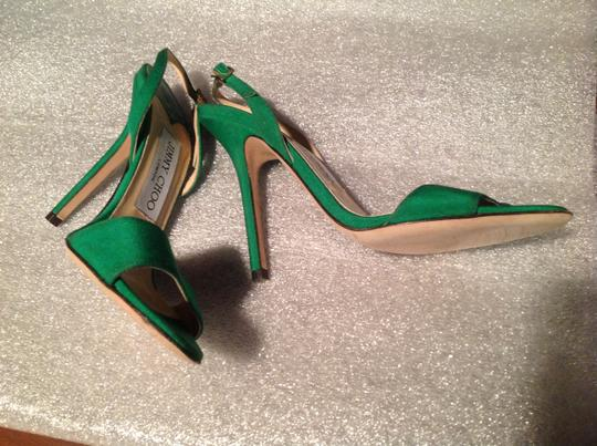 Jimmy Choo Green Sandals