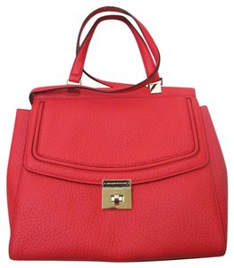 Kate Spade New With Tag Satchel in reddish/ crabred/ bright red