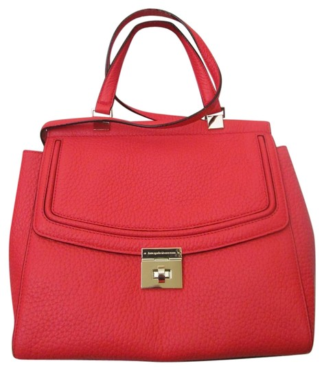 Preload https://img-static.tradesy.com/item/22384012/kate-spade-tallulah-everret-way-reddish-crabred-bright-red-leather-satchel-0-1-540-540.jpg