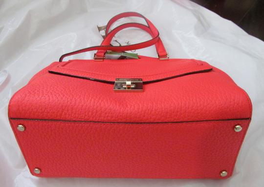 Kate Spade New With Tag Satchel in reddish/ crabred/ bright red Image 2