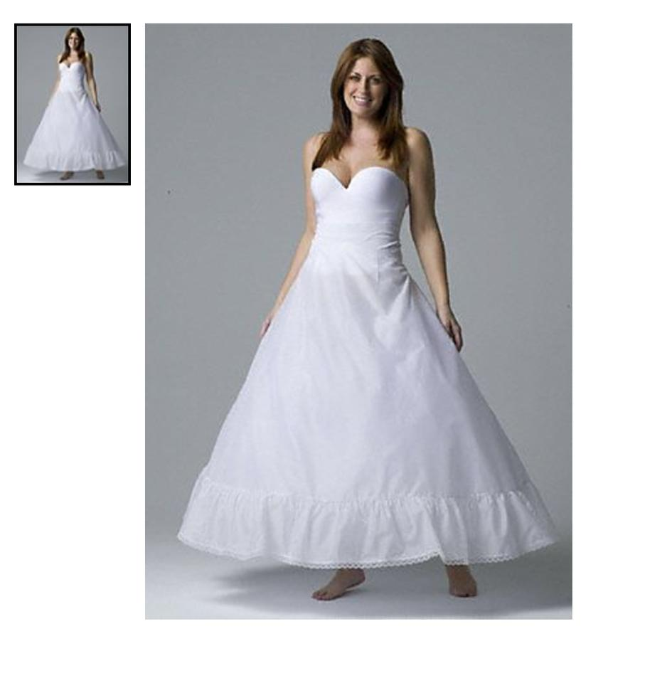 David\'s Bridal Satin Ball Gown Slip Never Been Worn Traditional ...