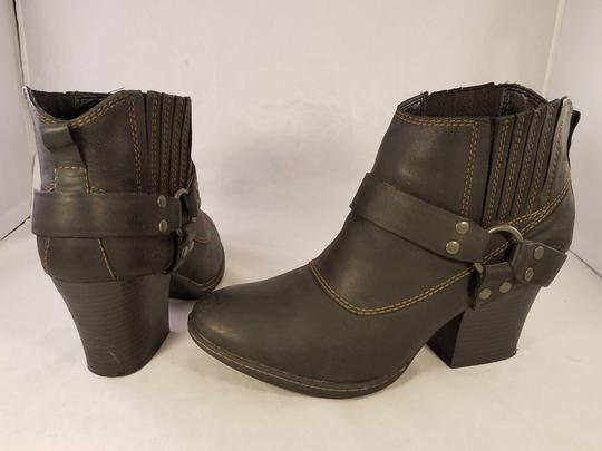 Brn B.o.c Ankle Harness Sexy black Boots Image 3
