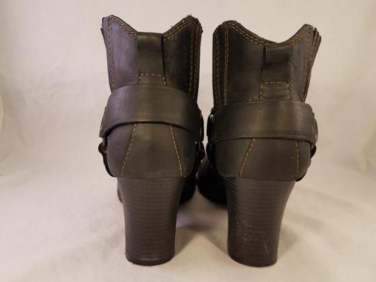 Brn B.o.c Ankle Harness Sexy black Boots Image 4