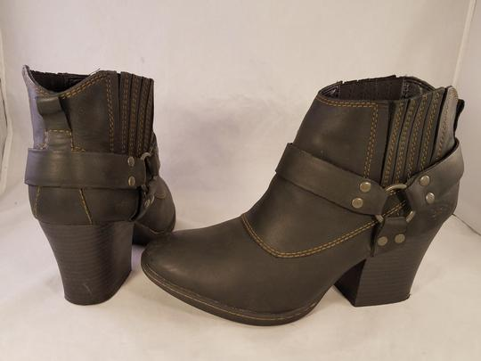 Brn B.o.c Ankle Harness Sexy black Boots Image 5
