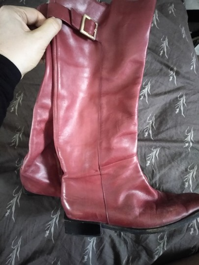 Sergio Rossi Cranberry Boots Image 2
