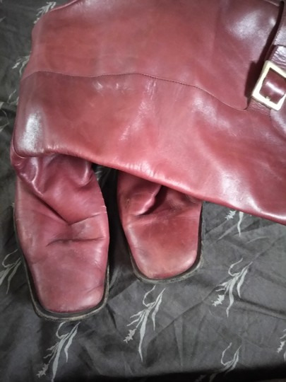 Sergio Rossi Cranberry Boots Image 3