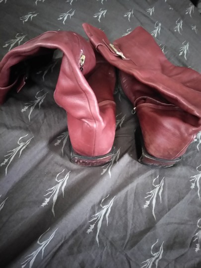 Sergio Rossi Cranberry Boots Image 4
