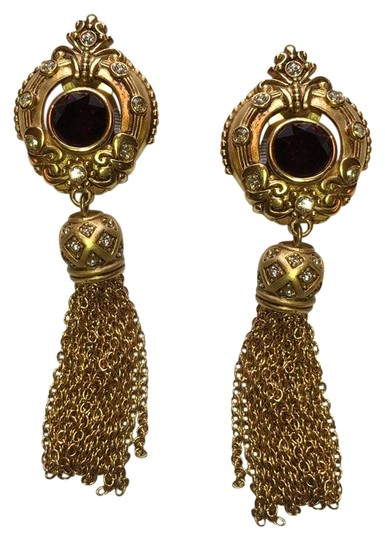 Preload https://item1.tradesy.com/images/ralph-lauren-gold-tassel-drop-earrings-22384310-0-1.jpg?width=440&height=440