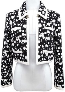 Chanel Black, White Jacket