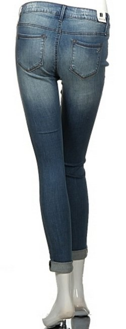 Other Ripped Skinny Jeans-Medium Wash