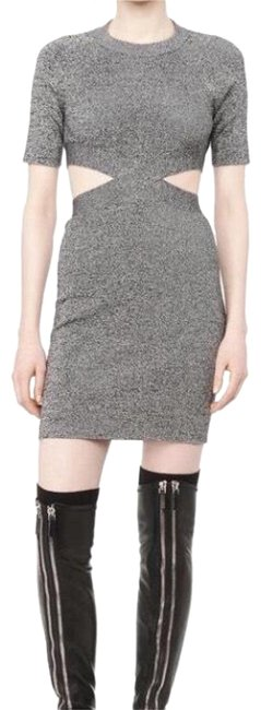 Preload https://img-static.tradesy.com/item/22384809/t-by-alexander-wang-gray-sleeve-fitted-402410f15-short-night-out-dress-size-2-xs-0-2-650-650.jpg