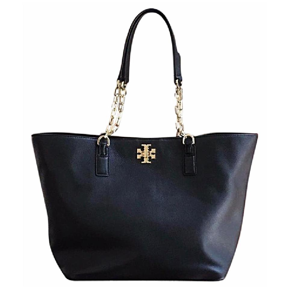 Tory Leather Burch Tote Tote Tory Leather Black Burch Black IRqfBxZ