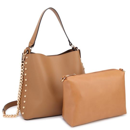 Preload https://img-static.tradesy.com/item/22384833/anais-gvani-bags-2-in-1-with-matching-accessory-tan-faux-leather-hobo-bag-0-0-540-540.jpg