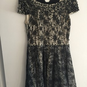 Alice + Olivia short dress Black on Tradesy