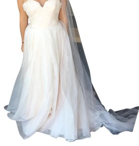 Hayley Paige Peyton Gown Traditional Wedding Dress Size 8 (M)
