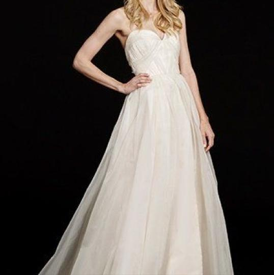 Hayley Paige Peyton Gown Traditional Wedding Dress Size 8 (M) Image 3
