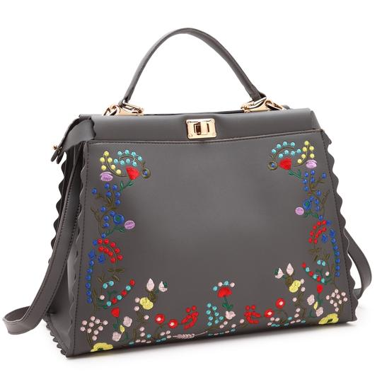 Preload https://img-static.tradesy.com/item/22384943/anais-gvani-bags-with-flowers-and-twist-lock-gray-faux-leather-hobo-bag-0-0-540-540.jpg