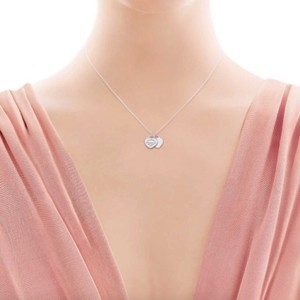 Tiffany & Co. Return to Tiffany Mini Double Heart Tag Pendant