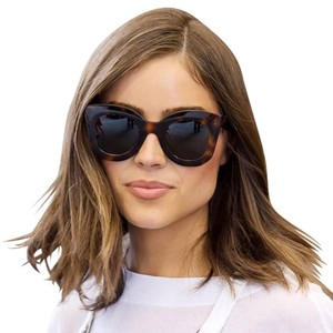 Celine NEW Celine CL 41093/S Marta Havana Brown Oversized Sunglasses