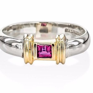 Tiffany & Co. Tiffany & Co 18Karat and Sterling Ruby Ring