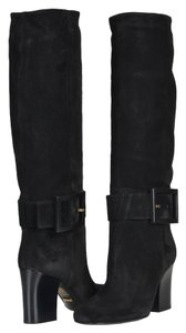 Gucci Suede Black Boots