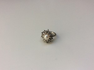 David Yurman David Yurman Starburst Ring with Pearl
