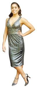 Mandalay Prom Beaded Bodycon Cut-out Dress