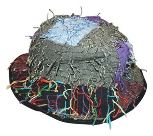 Unknown Guatamalan hand made multi-color hat