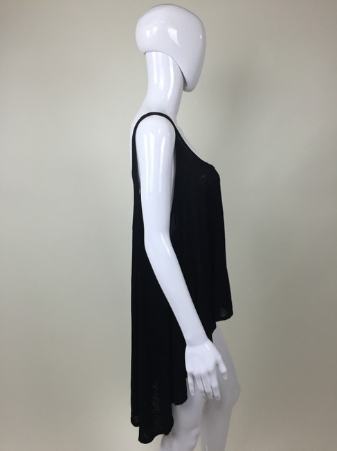 Other High Low Top Black
