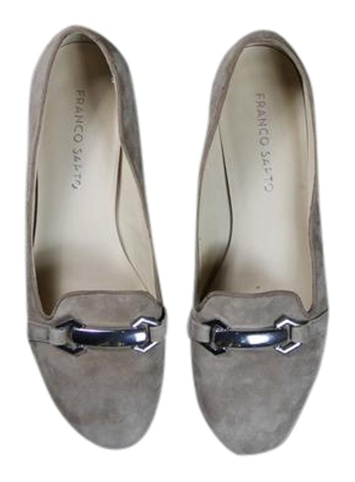 7a0b361dd4e Franco Sarto Taupe Beige Suede Loafers Flats Size US 7.5 Regular (M ...