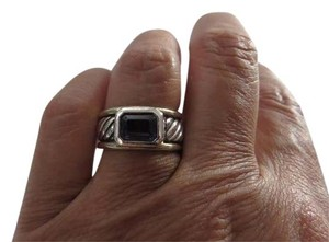 David Yurman Color Classics Iolite Sterling Silver/14k YG Ring
