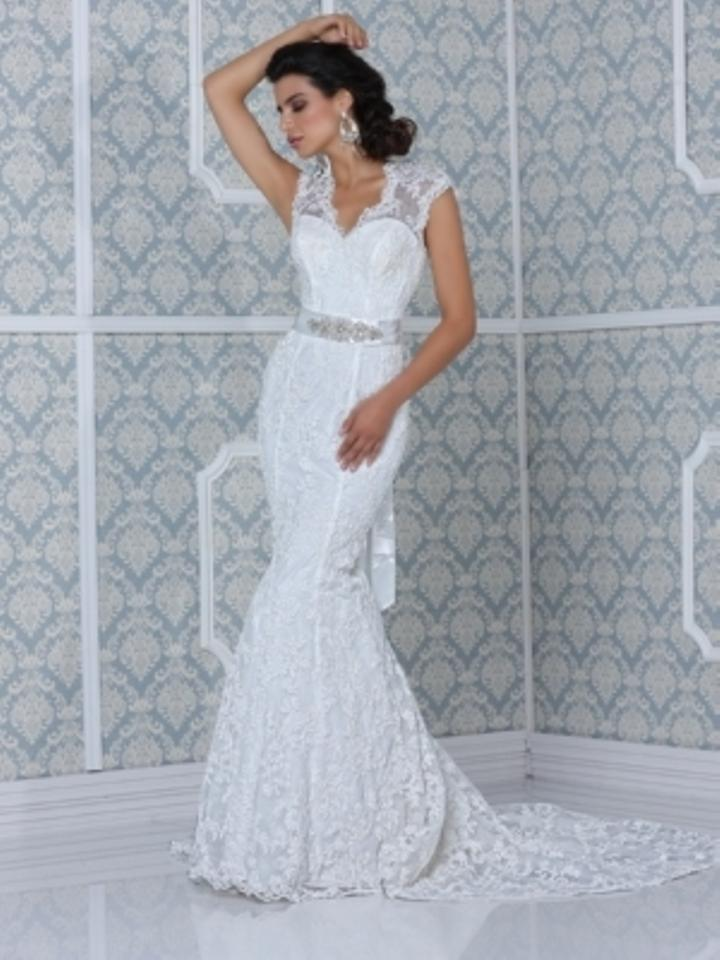 Impression Bridal Ivory Lace The Couture Collection Feminine Wedding ...
