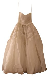 Priscilla of Boston Offwhite Vineyard Collection Traditional Wedding Dress Size 10 (M)