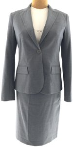 Theory Theory Grey Skirt Suit