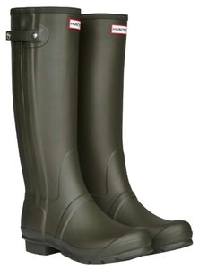 Hunter Rain Dark Olive Boots
