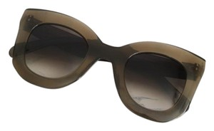 Céline NEW Celine CL 41093/S Marta Olive Green Oversized Sunglasses