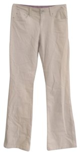 Tommy Hilfiger Boot Cut Pants Ivory