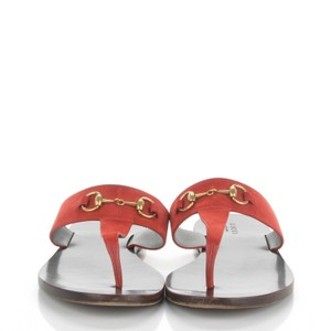 Gucci Rust Tone Sandals