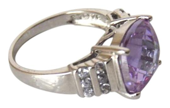 Technibond Technibond Light Purple Topaz Ring Size 8